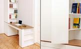 E 9 Schreibtisch - Privatwohnung, Frankfurt am Main
