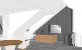 K 29 Kücheneinrichtung - Penthouse, Frankfurt